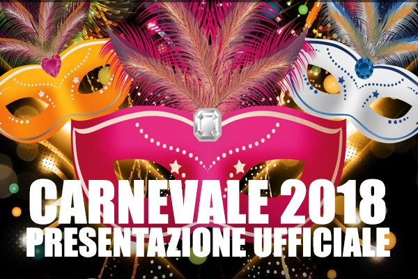 Presentazione Carnevale di Borgosesia 2018