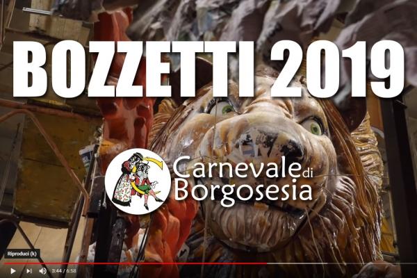 I Bozzetti del Carnevale di Borgosesia 2019